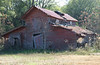 """Barn located south of Nashville, just west of intersection of Ga. 11/U.S. 129 and Connell Road/CR 74.( 31° 9'24.67""""N,  83°13'31.54""""W)(December 28, 2008)(Photo by Wenda Gaile Bailey)"""