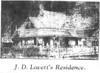 J.D. Lovett home, 1910