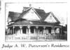 Judge A.W. Patterson home, 1910