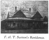 T.H.T. Sutton home, 1910