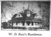 W.D. Buie home, 1910