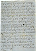 Letter from Ezekiel Parrish, Civil War Soldier, April 23, 1862 (page 2 of 2) (Courtesy of John C. Futch)