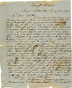 Letter from James Parrish, Civil War Soldier, May 28, 1864 (page 1 of 2) (Courtesy of John C. Futch)
