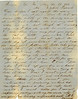 Letter from Mary Ellen Parrish, to her husband, Ezekiel Parrish, Civil War Soldier, May 23, 1862 (Courtesy of John C. Futch)