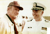 Charles L. Neugent, US Navy with John Wayne