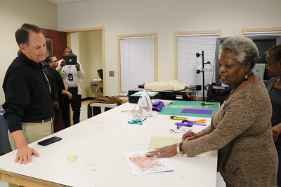 County Manager Visits Living Out Loud at Southwest and South Fulton