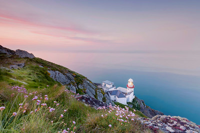 The Softness of Dusk, at Wicklow Lighthouse-IMG_4925
