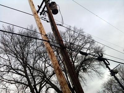 Washington Street Utility Poles