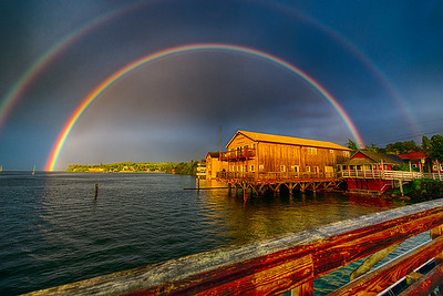 Waterfront Rainbow