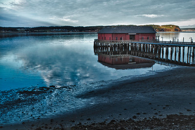 Penn Cove Mood: Historic Coupeville, Washington Wharf