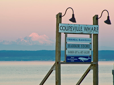 Mt. Baker from Coupeville.