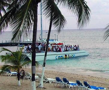 Catamaran cruise (AKA Booze Cruise)