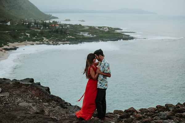Pre wedding photos   Oahu, Hawaii