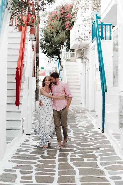 Pre-wedding pictures   Mykonos, Greece