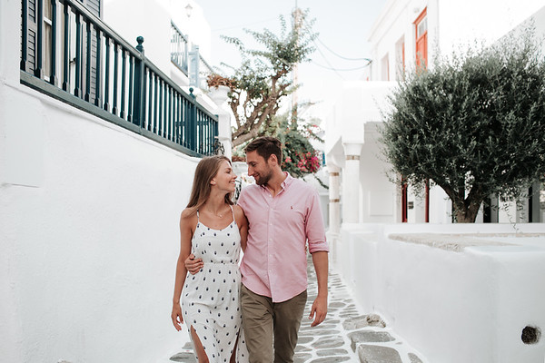 Pre-wedding pictures   Mykonos, Greece