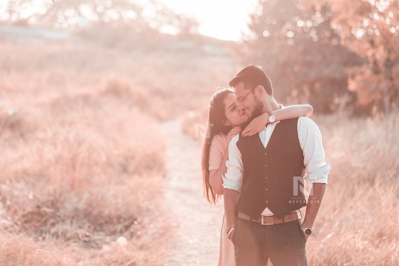 Pre-wedding photoshoots by professional photographer