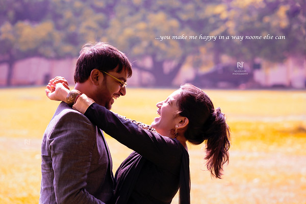 Pre-wedding photoshoot in Bangalore