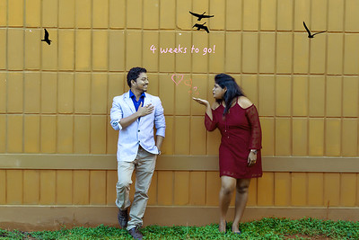 Candid prewedding photographer in Bangalore.