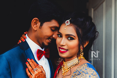 Reception photography for the couple - Bangalore