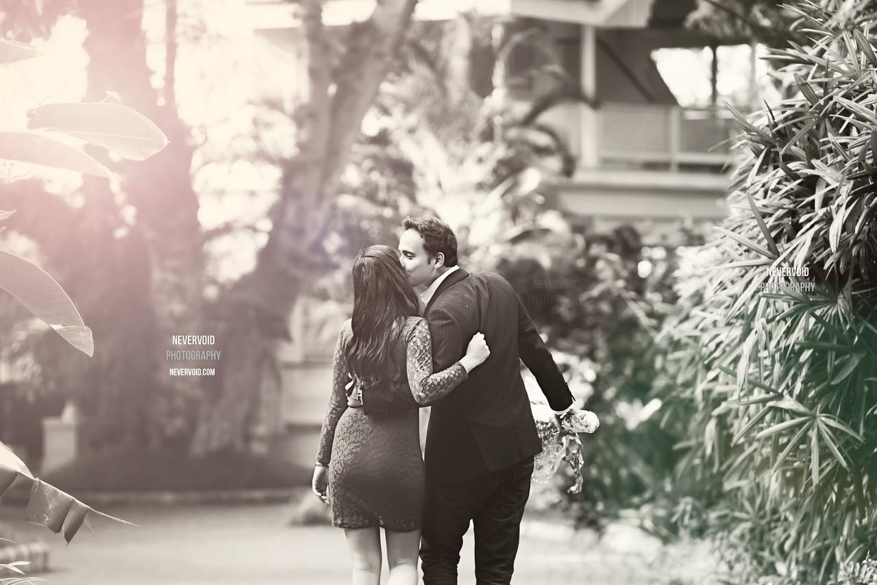 Creative couple photoshoot in Bangalore, India