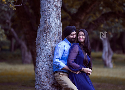 Candid pre-wedding photoshoots in Bangalore