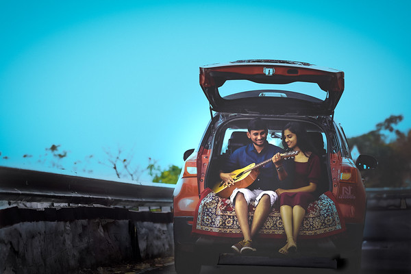 A rhythm etched in our hearts - candid pre-wedding photoshoots, Bangalore