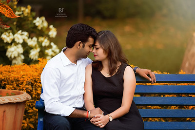 Creative prewedding photoshoot