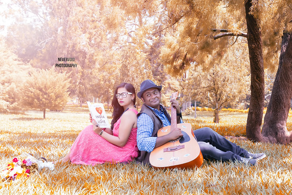 Let it all be done in the name of Love - Couple Photoshoot
