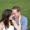 Engagement Photo Session of Jeanine and Mike at Tanglewood Park in Clemmons, North Carolina