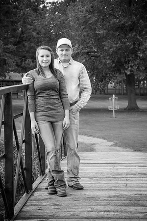 Tyler and Riley Engagement Photos