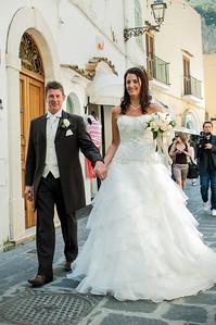 Marco and Elizabeth - Positano Italy