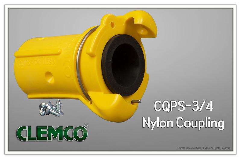 CQPS-3/4 Nylon Quick Coupling
