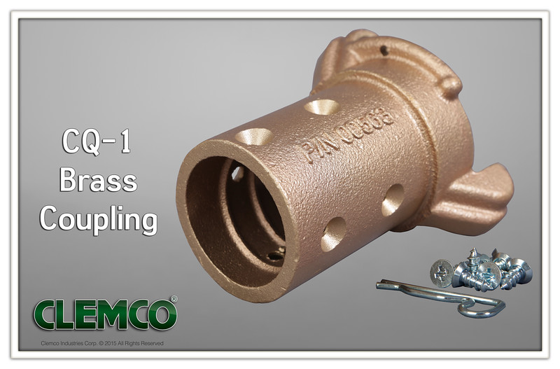 CQ-1 Brass Coupling