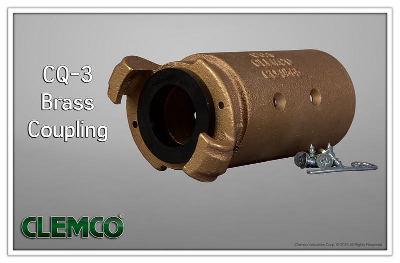 CQ-3 Brass Coupling