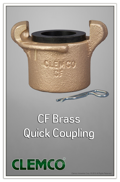 CF Brass Quick Coupling
