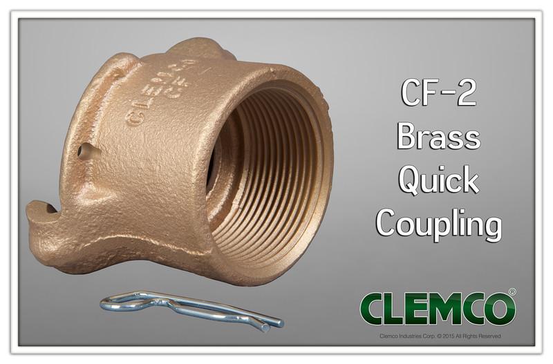 CF-2 Brass Quick Coupling