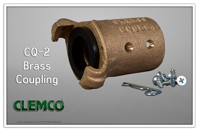 CQ-2 Brass Coupling
