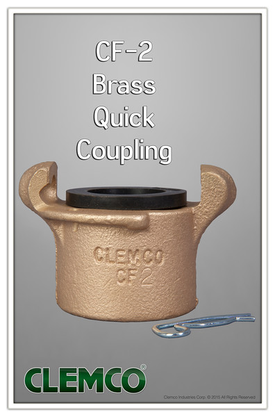 CF-2 Brass Quick Coupling