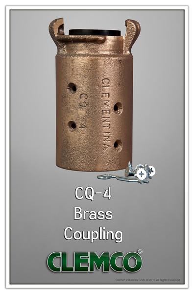 CQ-4 Brass Coupling