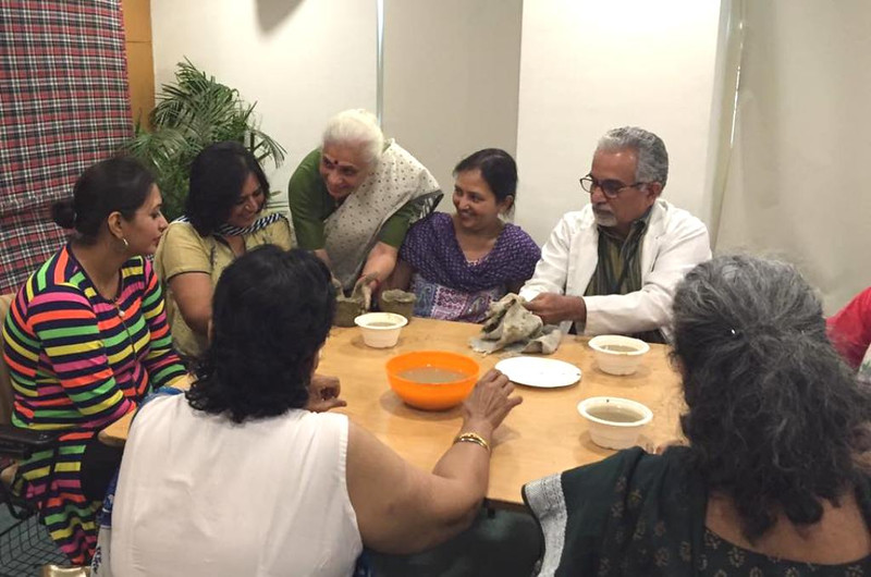 Clay Workshop with Cancer Patients