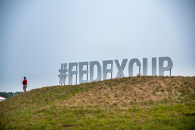 FedEx Cup Sign off of the 18th Fairway at the 2021 3M Open