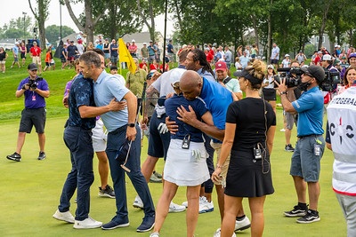 Hugs All Around for the Compass Challenge Players