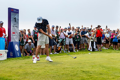 Rickie Fowler at the 2021 3M Open