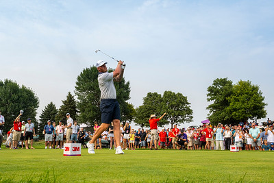 Kyle Rudolph at the 2021 3M Open
