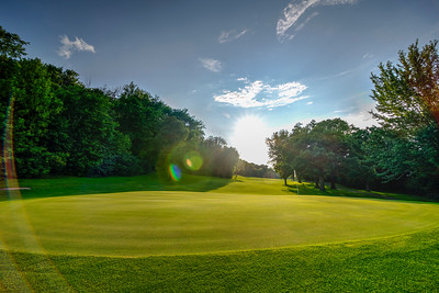 15th Green at Clifton Highlands | Prescott, WI