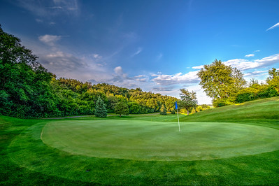 17th Green at Clifton Highlands | Prescott, WI