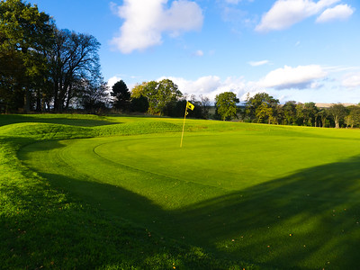 4th green, Balmore Golf Club