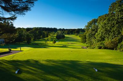 1st tee, Balmore Golf Club