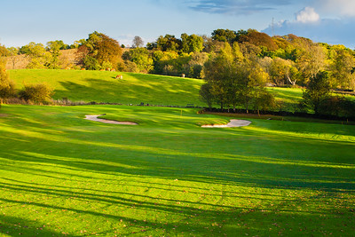 Par 3 6th hole, Balmore Golf Club