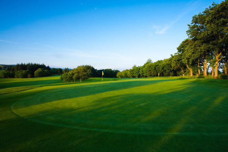 12th green, Balmore Golf Club